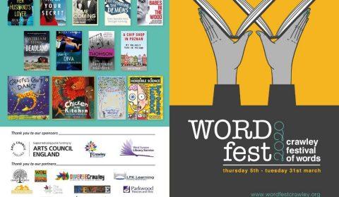 WORD fest 2020 flyer