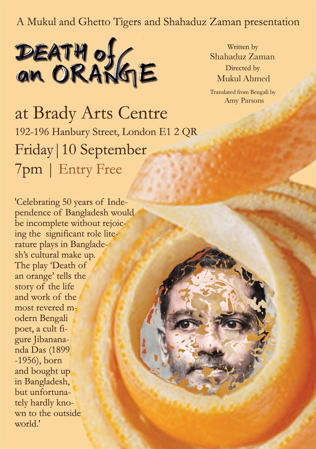 Death of an orange